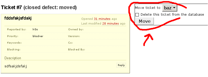 screenshot of the TicketMoverPlugin